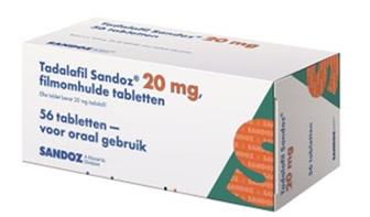Tadalafil 20mg Sandoz Bula ‒ Cialis 4 comprimidos