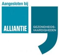 Logo Aangesloten bij Alliantie Gezondheidsvaardigheden